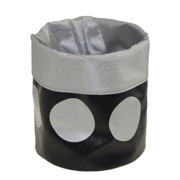 Koszyk Dots Black, 22 cm