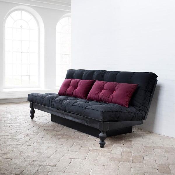 Sofa rozkładana Karup Rock-O Sofa Bordeaux