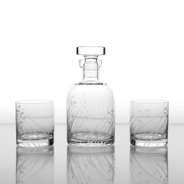 Zestaw do whisky z 6 szklankami Len