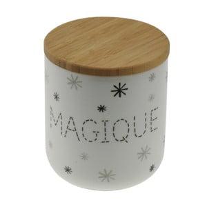 Porcelanowy pojemnik z drewnianym wieczkiem Incidence Magique