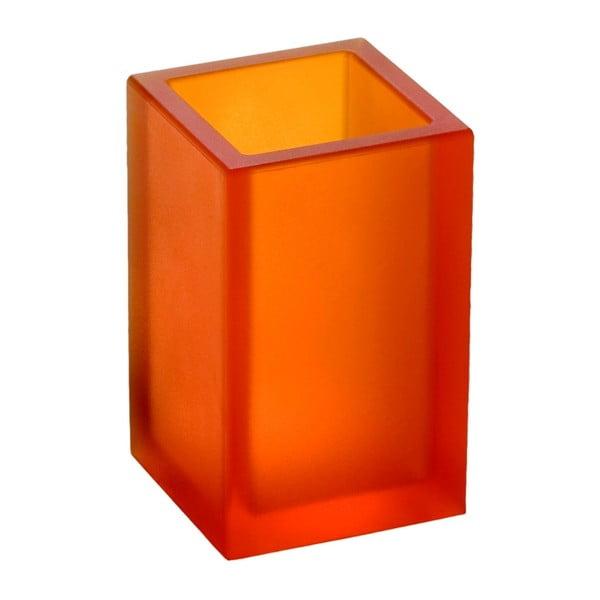 Niezniszczalny wazon Ivasi Medium, przezroczysto-pomarańczowy