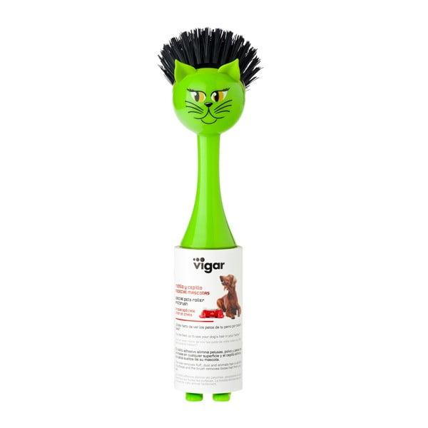 Szczotka do mycia naczyń Vigar Green Cat