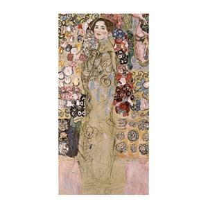 Reprodukcja obrazu Gustava Klimta - Portrait of Maria Munk, 70x30 cm