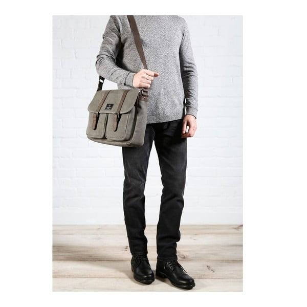 Męska torba płócienna Borough Slate
