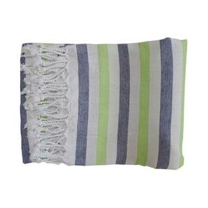 Ręcznik kąpielowy tkany ręcznie z wysokiej jakości bawełny Homemania Afrika Hammam,100x180 cm