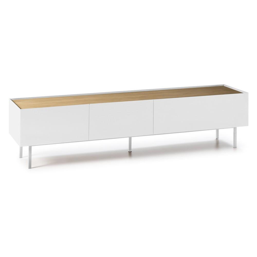 Biały stolik pod TV Teulat Arista