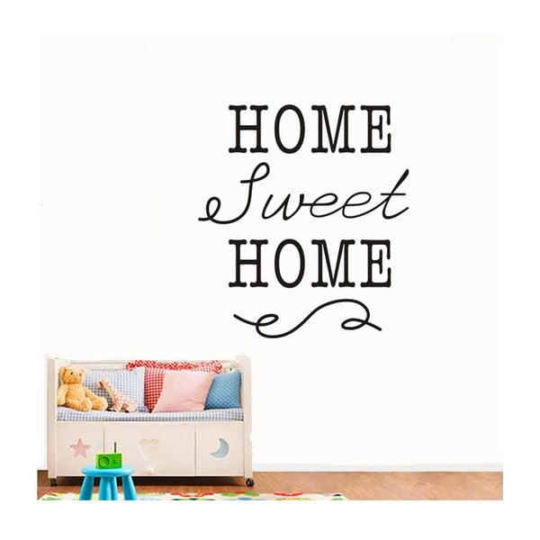 Naklejka dekoracyjna Home Sweet Home, 40x35 cm