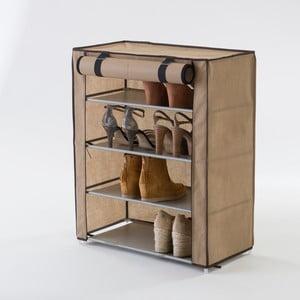 Materiałowa szafka czteropiętrowa na buty Compactor Shoes