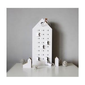 Kalendarz adwentowy ze szczegółami w srebrnym kolorze Unlimited Design for kids