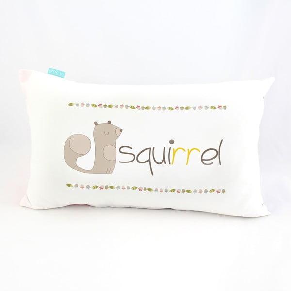 Poszewka na poduszkę Squirrel, 50x30 cm