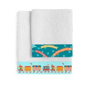 Komplet 2 ręczników Little W Fun Circus