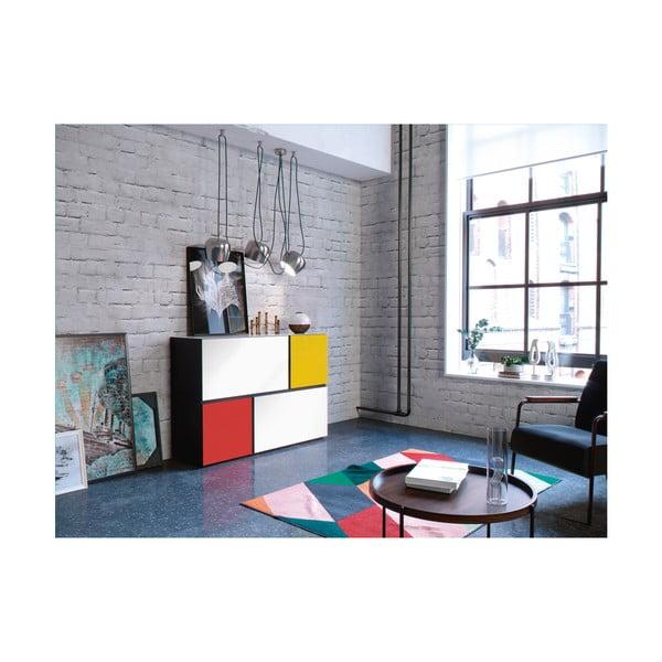 Kolorowa komoda Germania Ideeus Mondrian