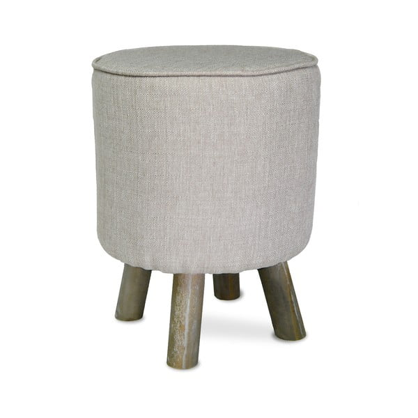 Taboret French Stool Grey