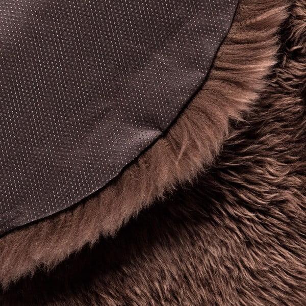 Brązowy   dywan okrągły Royal Dream Zealand