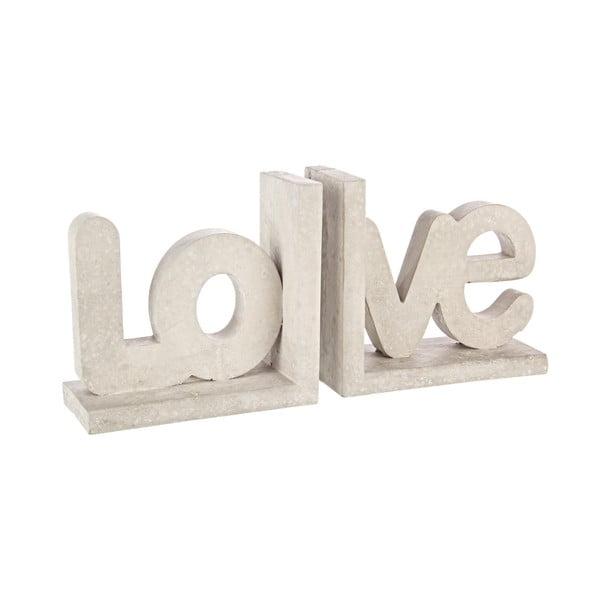 2 podpórki do książek Love