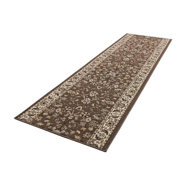 Dywan Basic Vintage, 80x300 cm, brązowy