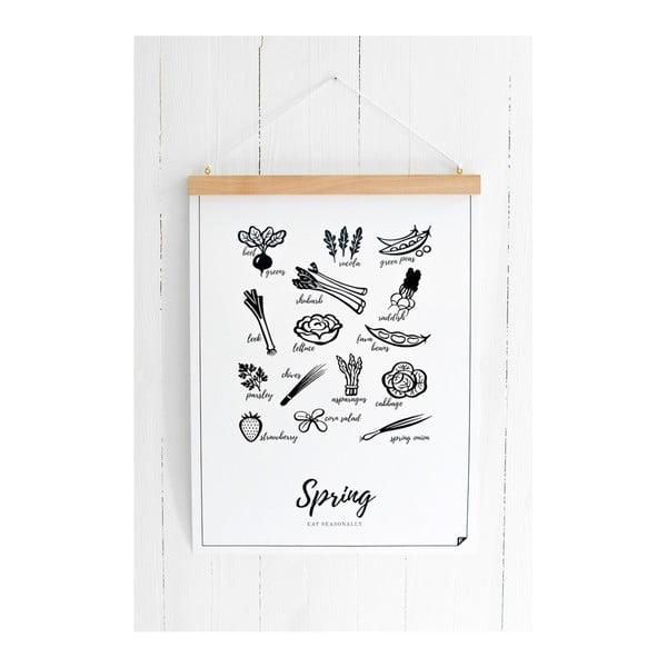 Plakat Follygraph 4 Seasons Spring, 21 x 30cm