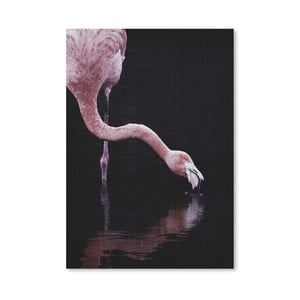 Plakat Drinking Flamingo