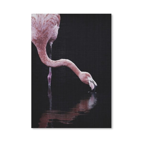 Plakat Drinking Flamingo