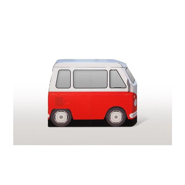 Kartonowy autobus Kampini
