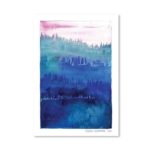 Plakat Pink Wood, 30x42 cm