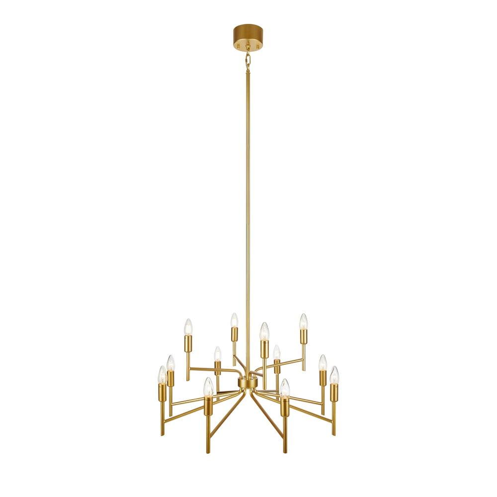 Lampa wisząca w kolorze złota z 12 kloszami Markslöjd Regent