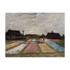 Reprodukcja obrazu Vincenta van Gogha - Flower Beds in Holland, 40x30 cm