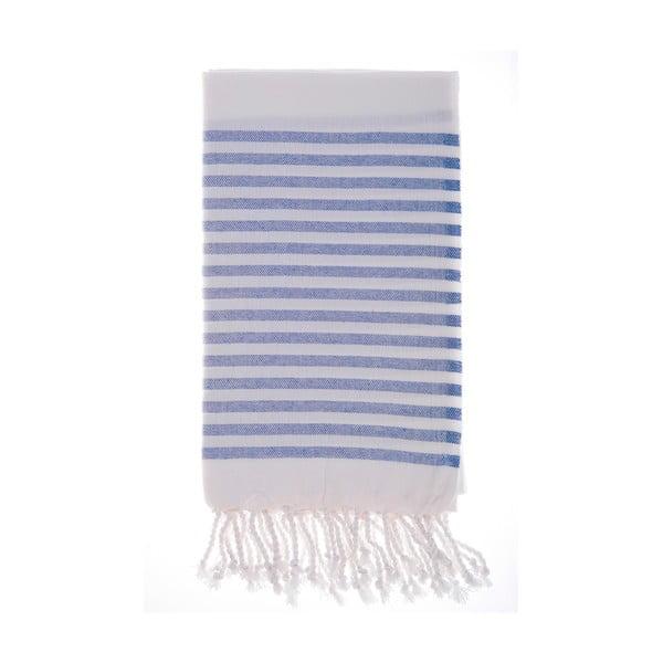 Ręcznik Hamam Efes Blue, 100x180 cm