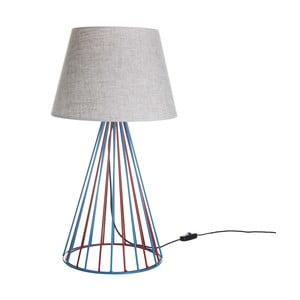 Lampa stołowa Wiry White/Blue/Red