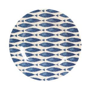 Melaminowy talerz Couture Fishie, 20.3 cm