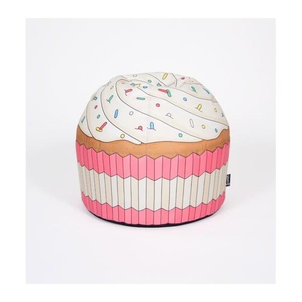 Puf w kształcie babeczki Cupcake Pink