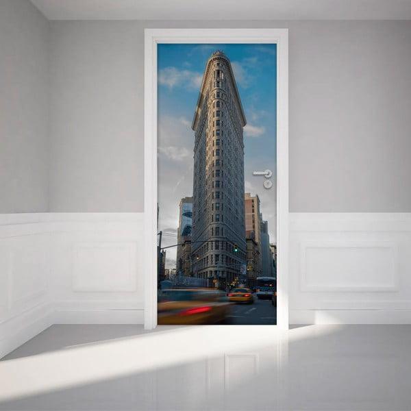 Naklejka   na drzwi NY Flatiron