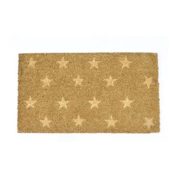 Wycieraczka With Beige Stars, 40x70 cm