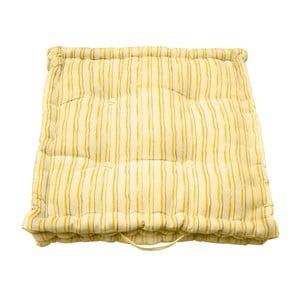 Żółta poduszka ogrodowa w paski Ragged Rose Jess
