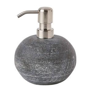 Szary marmurowy dozownik na mydło Aquanova Flint