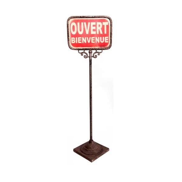 Dwustronna stojąca tabliczka Antic Line Ouver-Ferme