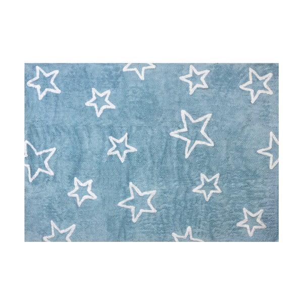 Dywan Estrella 160x120 cm, niebieski