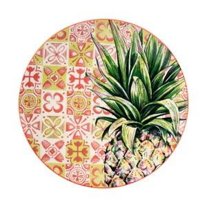 Porcelanowy talerz Sema Tropical