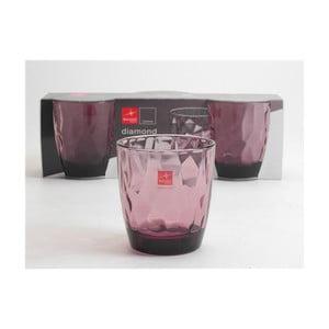 Zestaw szklanek Classy Pink, 3 szt.