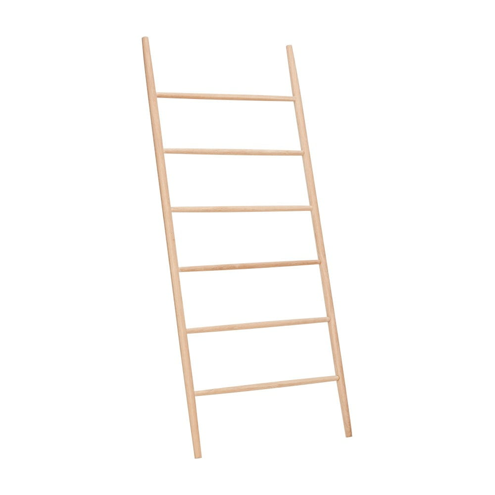 Regał z drewna dębowego Hübsch Oak Display Ladder Puro