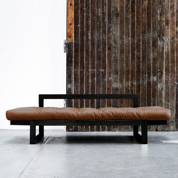 Sofa Karup Vintage Edge Black/Choco