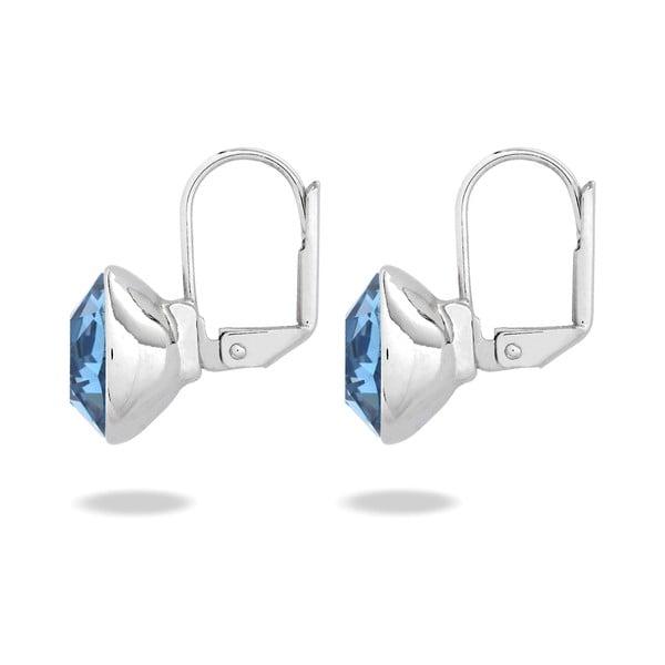 Kolczyki ze Swarovski Elements Glass Stone Blue