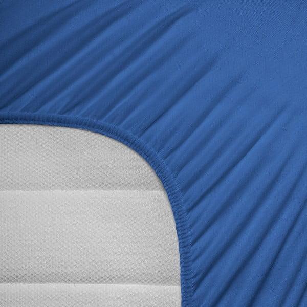 Prześcieradło elastyczne Hoeslaken 140x200 cm, niebieskie