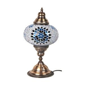 Szklana lampa stołowa Homemania Fudżajra, ⌀17cm