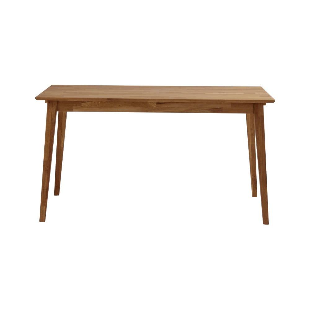 Stół z drewna dębowego Rowico Mimi, 140 x 90 cm