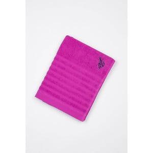 Ręcznik US Polo Bath Fichsia, 90x150 cm