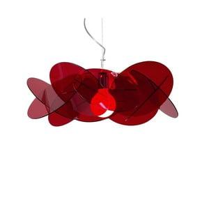 Lampa wisząca Bea Emporium, czerwona