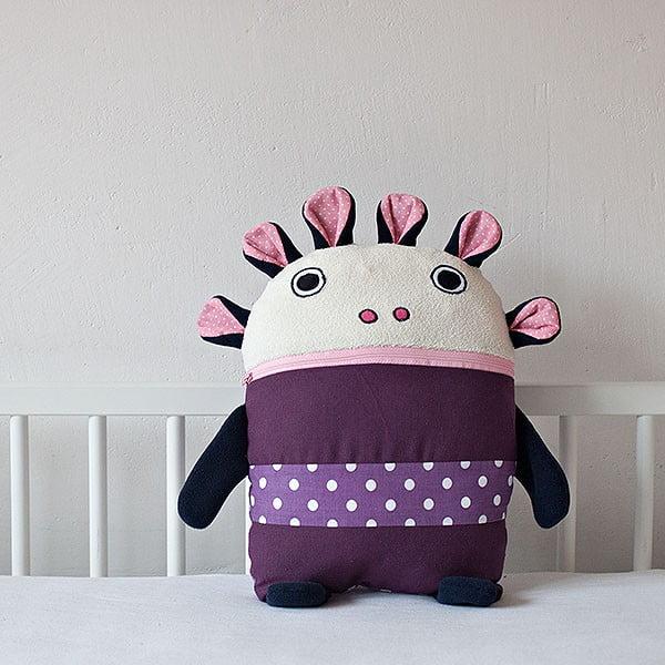 Piżamożerca, fioletowy, duży