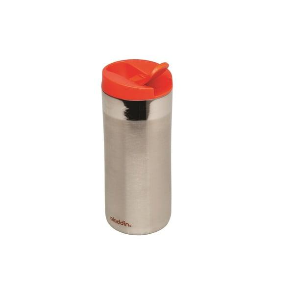 Kubek termiczny Flip Sea 350 ml, czerwone wieczko