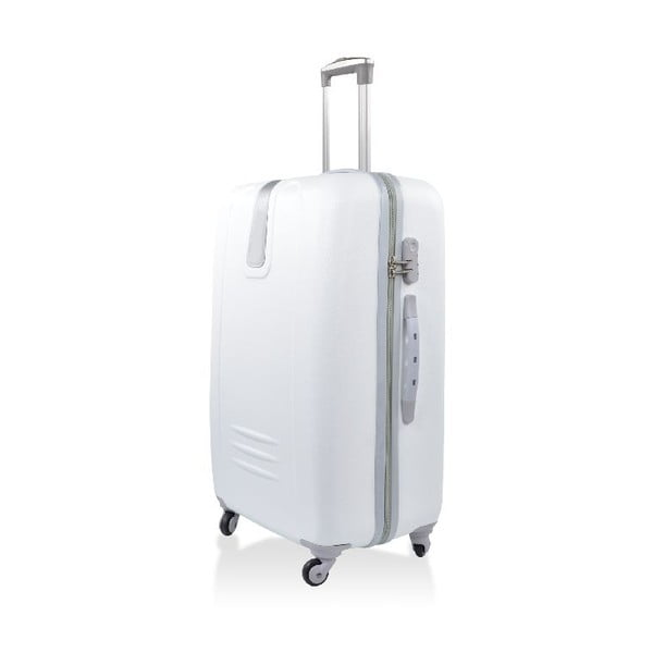 Zestaw 3 walizek podróżnych Hero White